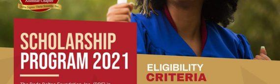Scholarship Program 2021